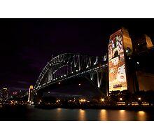 Sydney Harbour Light Show Photographic Print