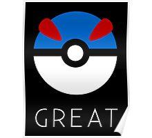Minimalist Great Ball Poster