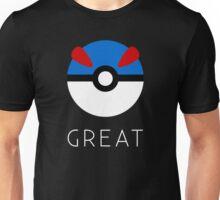 Minimalist Great Ball Unisex T-Shirt