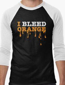 I Bleed Orange Men's Baseball ¾ T-Shirt