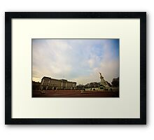 Buckingham Palace - London Framed Print