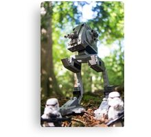 Morning patrol on the forest moon of Endor Canvas Print