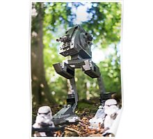 Morning patrol on the forest moon of Endor Poster