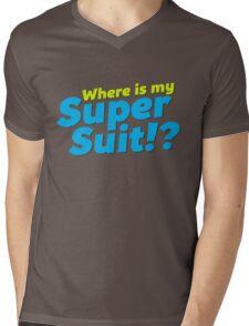Where is my Super Suit!? Mens V-Neck T-Shirt
