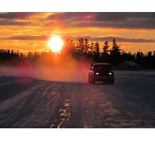 NORTHERN  ICE  ROAD  Photographic Print
