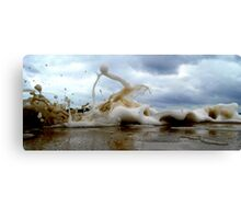 Clouds Sea Sand 11 Canvas Print