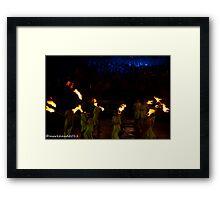 2011 FIREDANCE 105 Framed Print