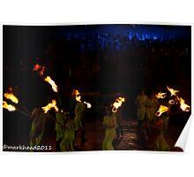 2011 FIREDANCE 105 Poster