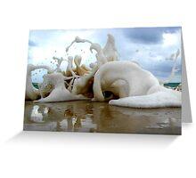 Clouds Sea Sand 20 Greeting Card