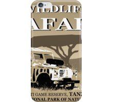 Landrover Jeep Safari iPhone Case/Skin