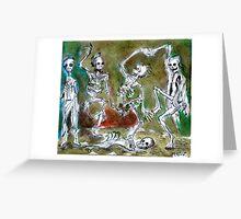 deaths dance Greeting Card