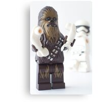 And they still won't let the wookie win? Canvas Print