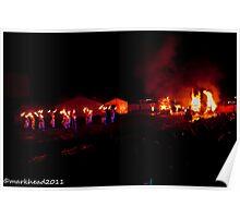 2011 FIREDANCE 127 Poster