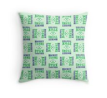 Field Hockey Teams Stick Together Throw Pillow