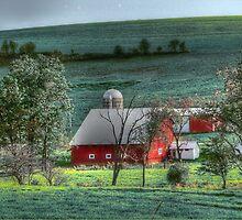 Red Barn Farm by vigor