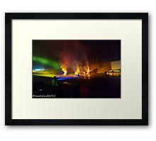 2011 FIREDANCE 166 Framed Print