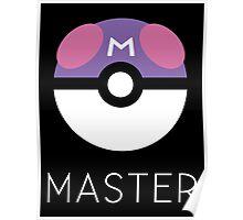 Minimalist Master Ball Poster