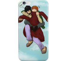 Flying Lessons iPhone Case/Skin