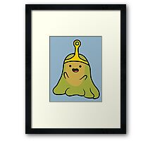 SLIME PRINCESS Framed Print