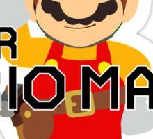 Super Mario Maker Sticker