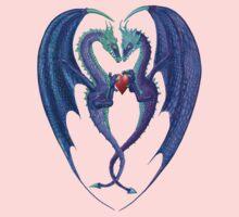 valentine dragons by Kestrelle