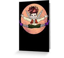 Pixie Jump! Greeting Card