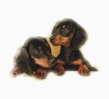 Dachshund Dogs Kids Tee
