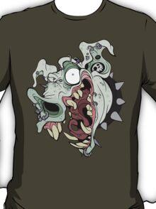 Piggy Piercings Green T-Shirt