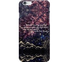 QUOTE PAINTING iPhone Case/Skin