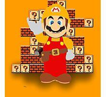 Super Mario Maker Photographic Print