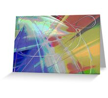 Strings Attached Greeting Card