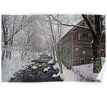 -The Old Mill On Stevens' Brook- Poster