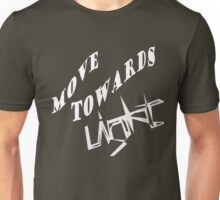 Move towards light 2 Unisex T-Shirt