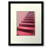 Going up! Framed Print