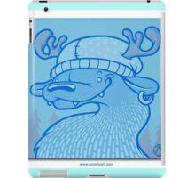 Blue Hairpin iPad Case/Skin