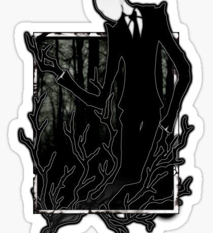 Slenderman IV Sticker