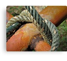 Cross over knot Canvas Print