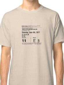 Motorhead Admit One Classic T-Shirt