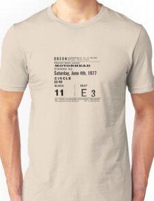 Motorhead Admit One Unisex T-Shirt