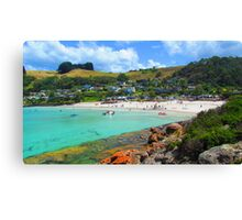 Australia Day at Boat Harbour 2 Canvas Print