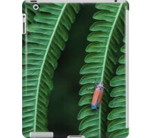 Leaf Hopper on Fern iPad Case/Skin