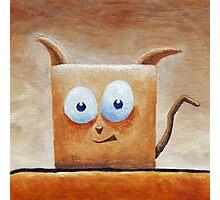 Square Cat Photographic Print