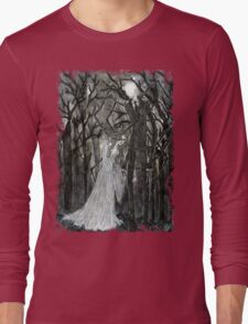 Slenderman :: A Stolen Love Long Sleeve T-Shirt