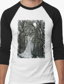 Slenderman :: A Stolen Love Men's Baseball ¾ T-Shirt
