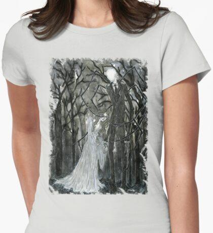 Slenderman :: A Stolen Love Womens Fitted T-Shirt