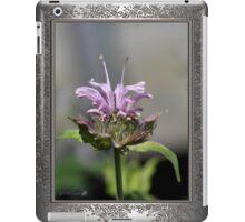 Bee Balm named Panorama Lavender iPad Case/Skin