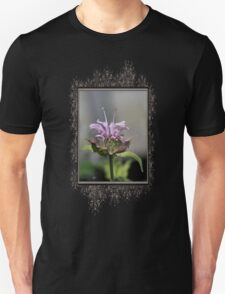 Bee Balm named Panorama Lavender Unisex T-Shirt