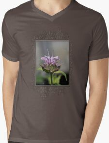 Bee Balm named Panorama Lavender Mens V-Neck T-Shirt