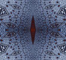 Pressed Rhombus No. 1 by Mark Eggleston