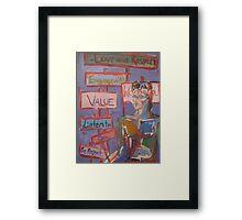 Feminist Man Framed Print